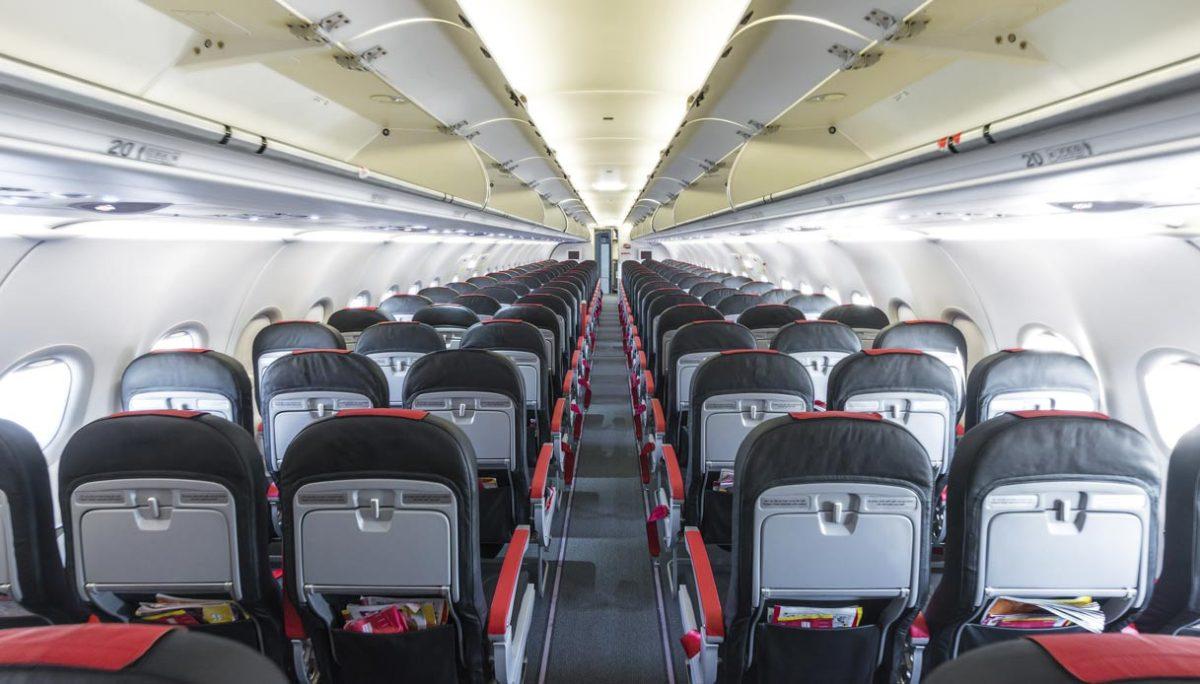 bottone segreto in aereo