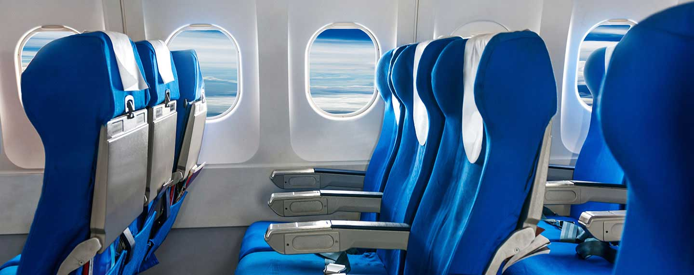 finestrini in aereo