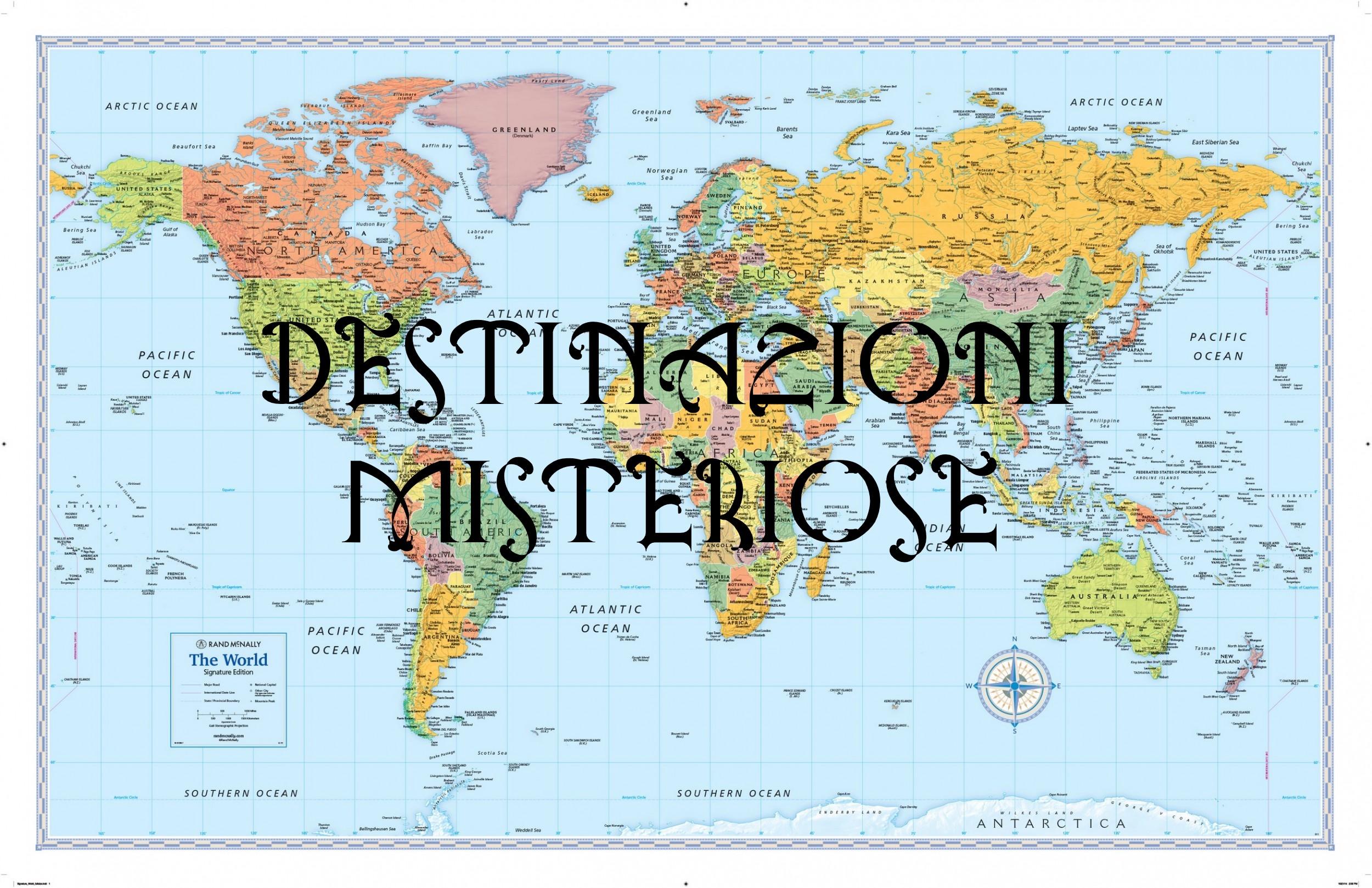 destinazioni misteriose