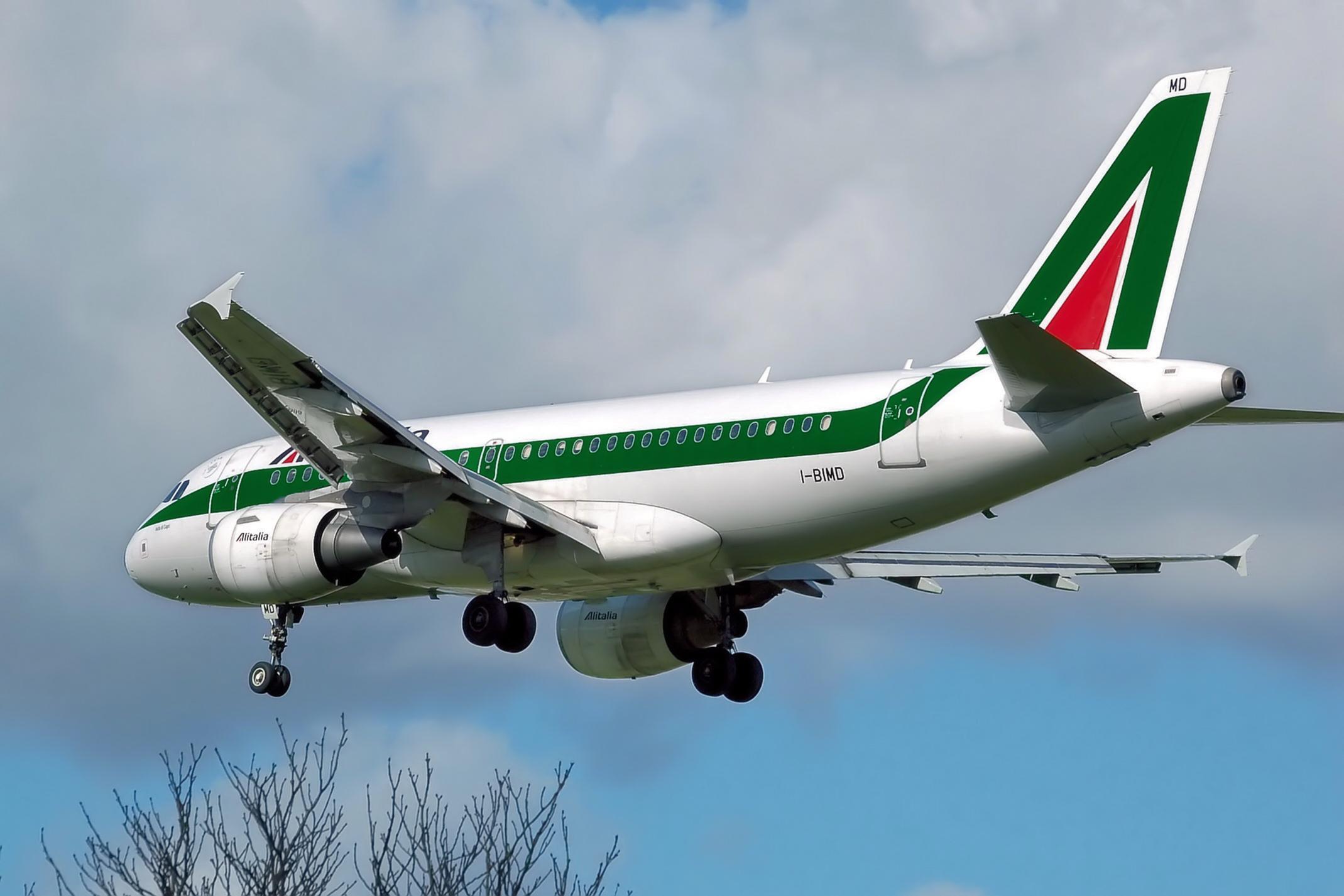aerei hanno le targhe